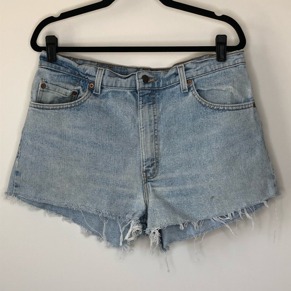 Vintage Levi's 550 High Waist Cutoff Shorts